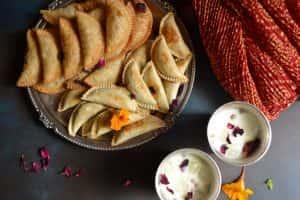 Baked whole wheat  Gujiya Sugar free(Delhi NCR only)