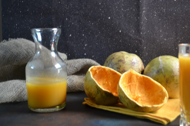 Refreshing Bel Sharbat / Wood Apple Summer drink with no added sugar.