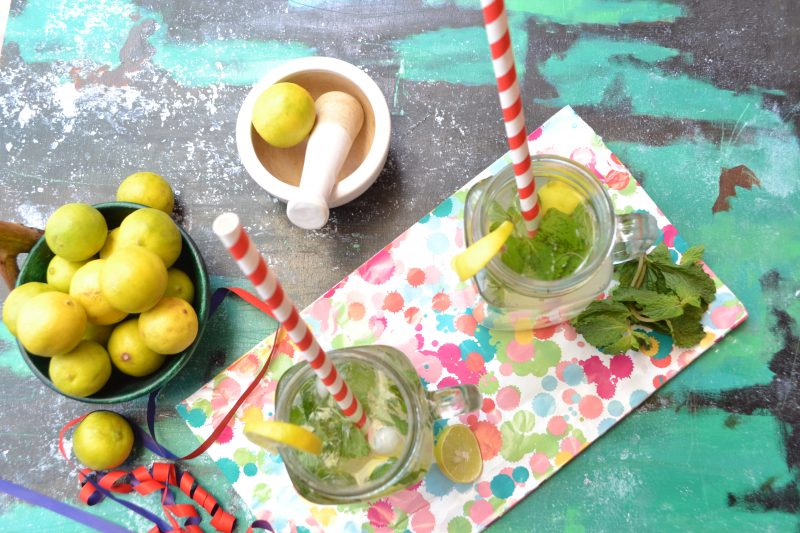 Indian Lemonade/ Mojito/ Masala Lemonade/Lemon And Mint Mocktail
