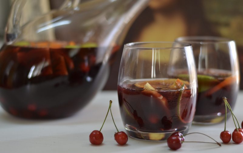 Red Wine Sangria/  Fruity Sangria Recipe/Spanish Sangria