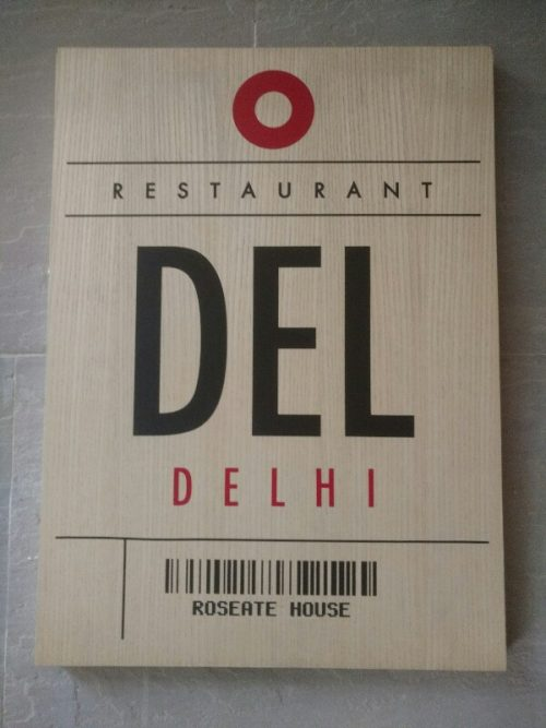 Del- Roseate House, Aerocity …..A luxury dining experience.