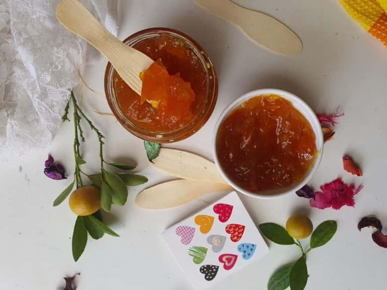 Calamondin Marmalade in a Jar…Simple quick Recipe