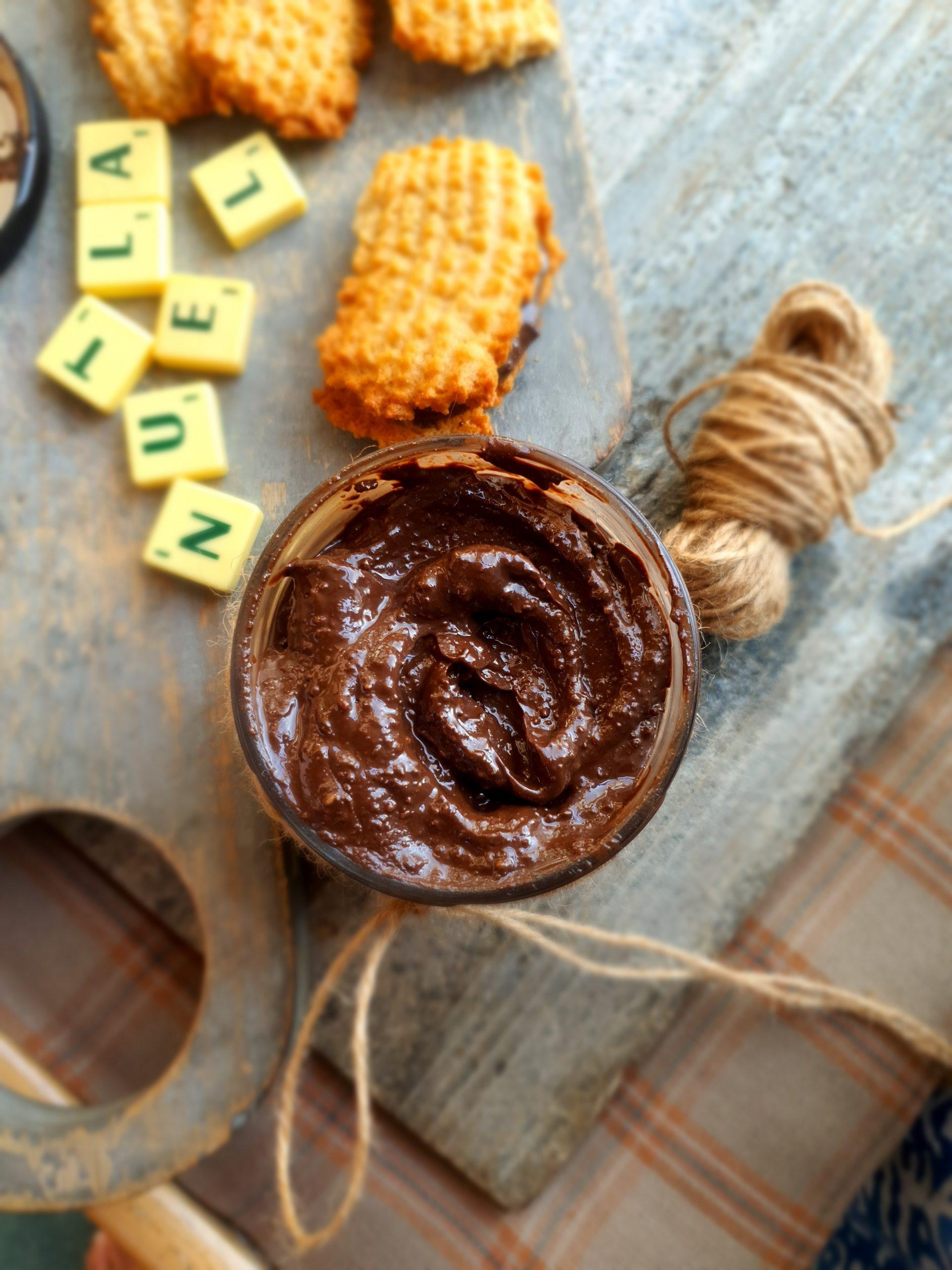 Nutella Chocolate spread….Homemade hazelnut-chocolate spread