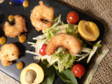 Coconut Crusted Beer Prawns