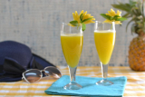 Ultimate  Pineapple Thai Summer Mocktail/ Pineapple Lemongrass and Basil Mocktail
