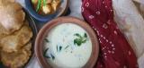 Chaulai Kadhi/ Rajgira kadhee /Amaranth Curd Curry …..Navratri food